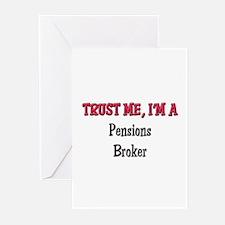 Trust Me I'm a Pensions Broker Greeting Cards (Pk