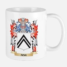 Aish Coat of Arms - Family Crest Mugs