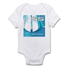 SS STRIPES A PLENTY Infant Bodysuit