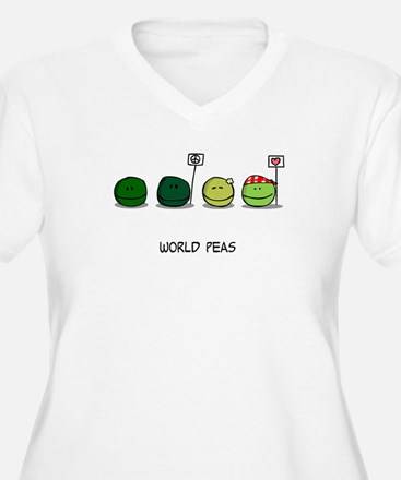 T-worldpeas Plus Size T-Shirt