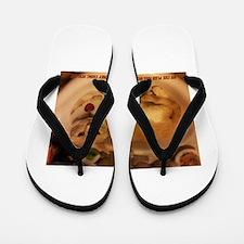 Me cat Flip Flops