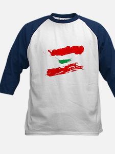 Lebanese Flag Brush Tee