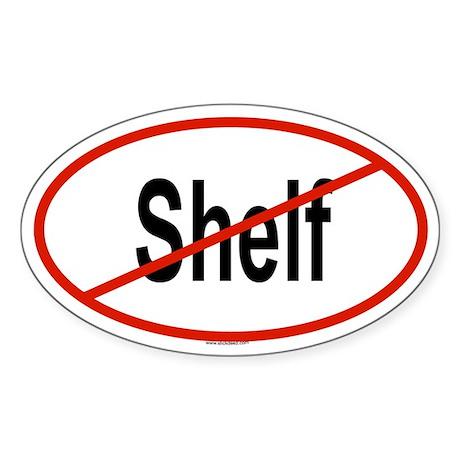 SHELF Oval Sticker