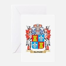 Alonzo Coat of Arms - Family Crest Greeting Cards