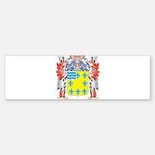 Alvarado Coat of Arms - Family Cres Bumper Bumper Bumper Sticker