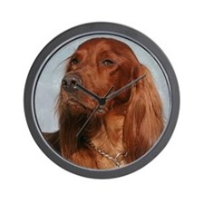 Cute Jumping dog Wall Clock