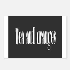Tea and oranges Postcards (Package of 8)