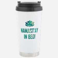 NAMASTAY IN BED! Travel Mug