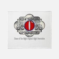 Eye of Thundera Optomitry Throw Blanket