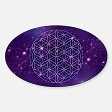 Flower Of Life Motif Stickers