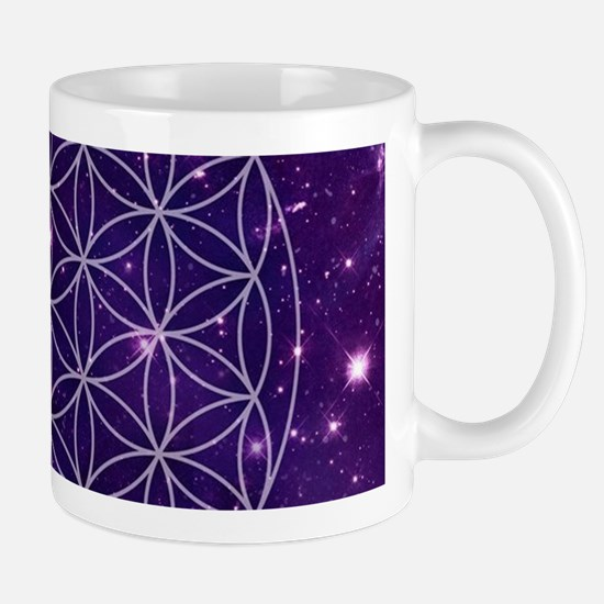 Flower Of Life Motif Mugs