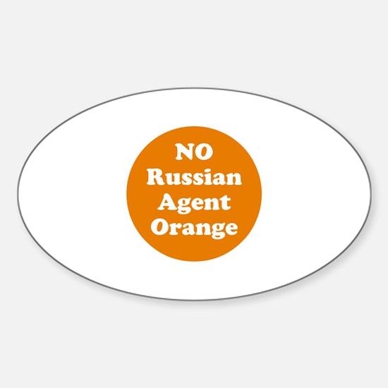 No Russian agent orange,never trump Decal