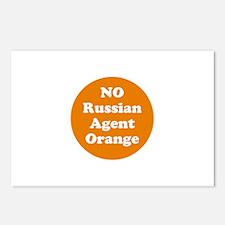 No Russian agent orange,never trump Postcards (Pac