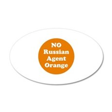 No Russian agent orange,never trump Wall Decal