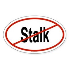 STALK Oval Decal