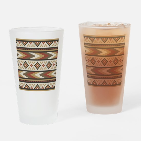 Cool Aztec Drinking Glass