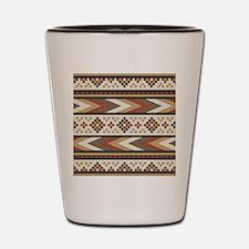 Funny Tribal Shot Glass