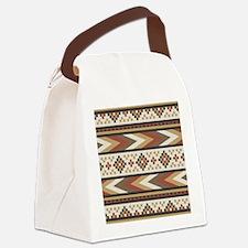 Cute Tribal Canvas Lunch Bag