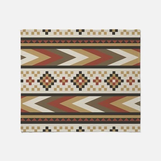 Navajo Southwestern Throw Blanket
