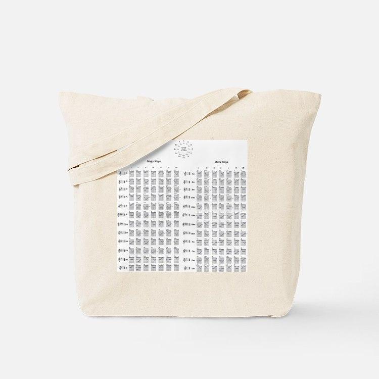 Cute Chords Tote Bag