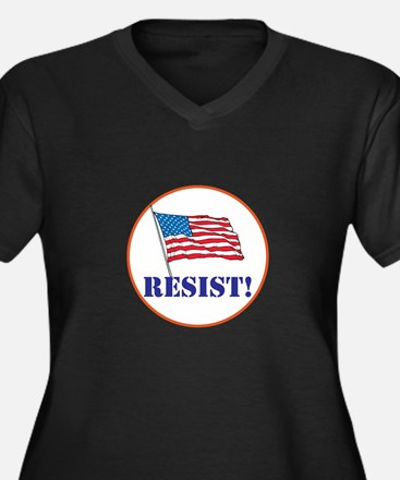 Resist! Stand up for justice Plus Size T-Shirt
