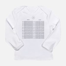 Guitar Chords Long Sleeve T-Shirt