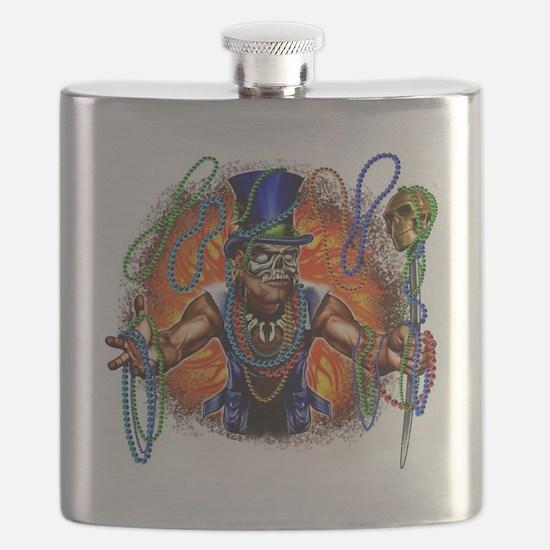 Funny Voodoo Flask
