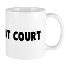 A friend at court Mug