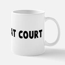 A friend at court Mug