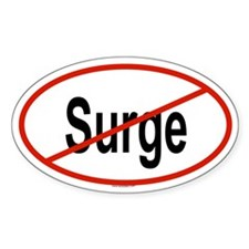 SURGE Oval Decal
