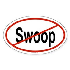 SWOOP Oval Decal