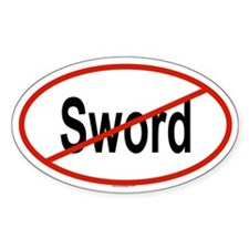 SWORD Oval Decal