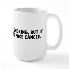 Anyone can give up smoking bu Mug