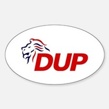DUP Logo 2017 Sticker (Oval)