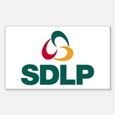 SDLP Logo Sticker (Rectangle)
