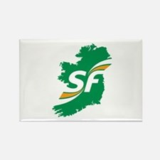 Sinn Fein Logo Rectangle Magnet