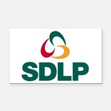 SDLP Logo Rectangle Car Magnet