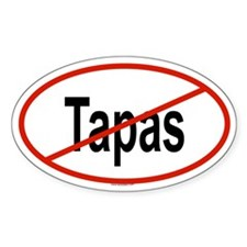 TAPAS Oval Decal