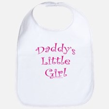 daddys girl wht copy Baby Bib
