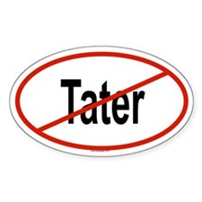 TATER Oval Decal