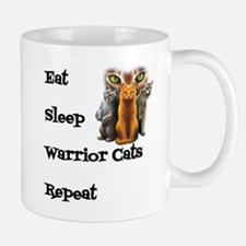 Eat Sleep Warrior Cats Repeat Mugs
