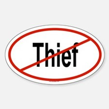 THIEF Oval Decal