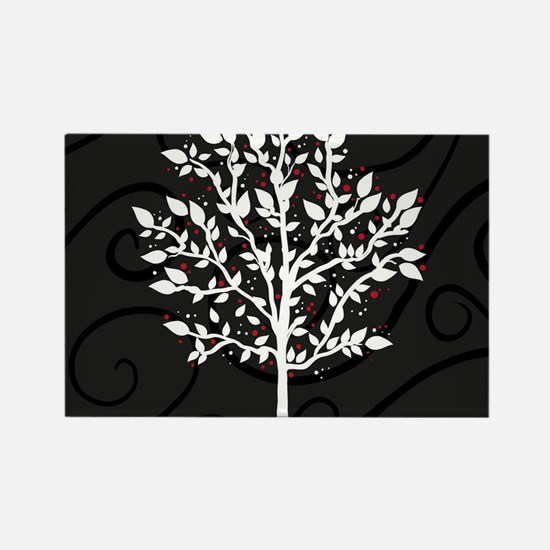 Love Tree Rectangle Magnet