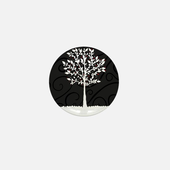 Love Tree Mini Button