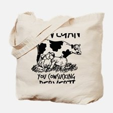 Funny Vegetarian shopping Tote Bag