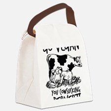 Unique Healthy Canvas Lunch Bag