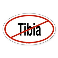 TIBIA Oval Decal