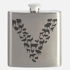 Cute Veganism Flask