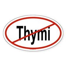THYMI Oval Decal