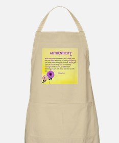 Authenticity by Tahiragift Apron